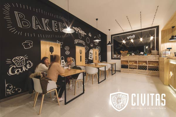 Cafeteria en almeria en alojamiento para profesionales